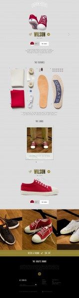The Wilson - Red White   Greats Brand copy